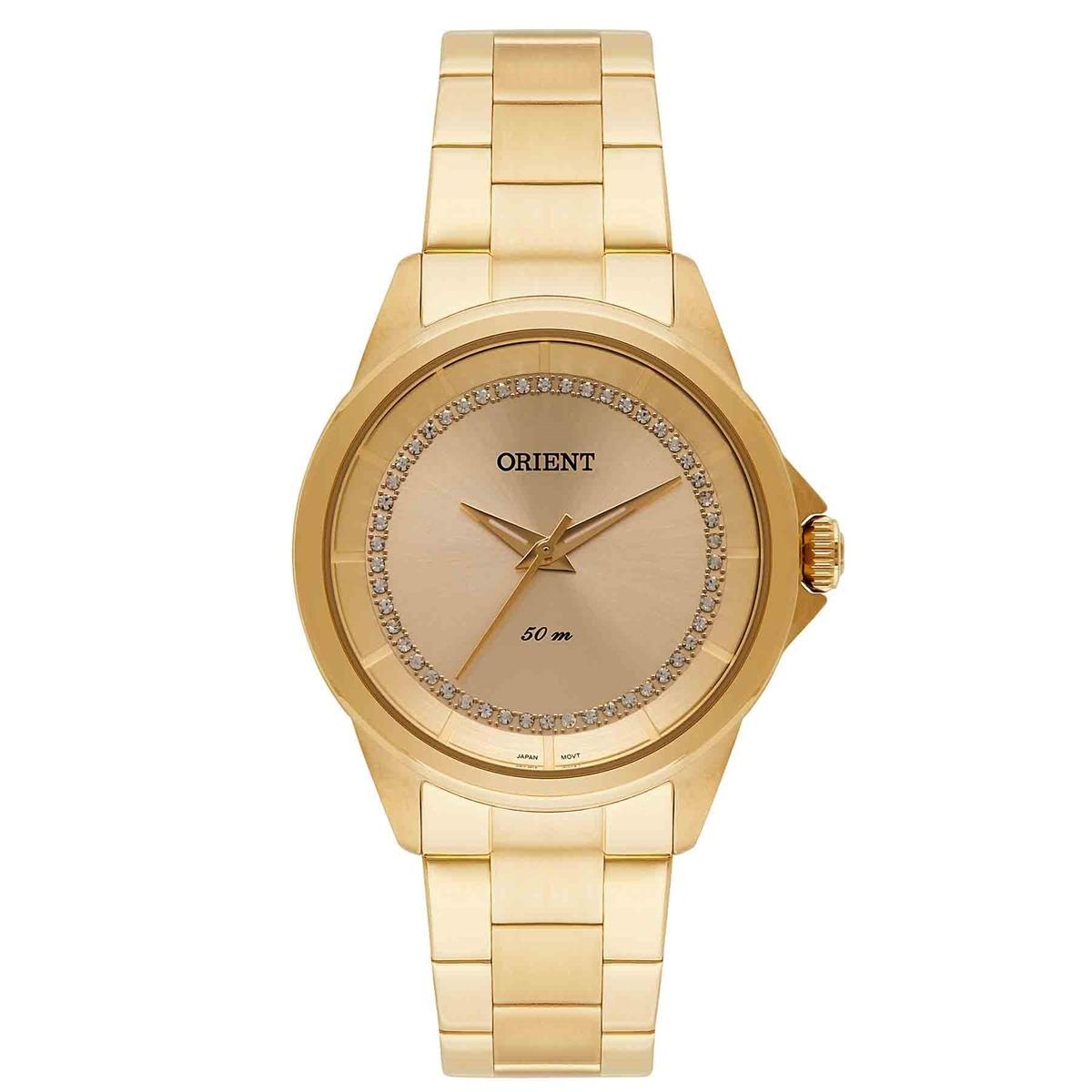 28fdf60a8ff relógio orient analógico feminino swarovski fgss0076 c1kx. Carregando zoom.