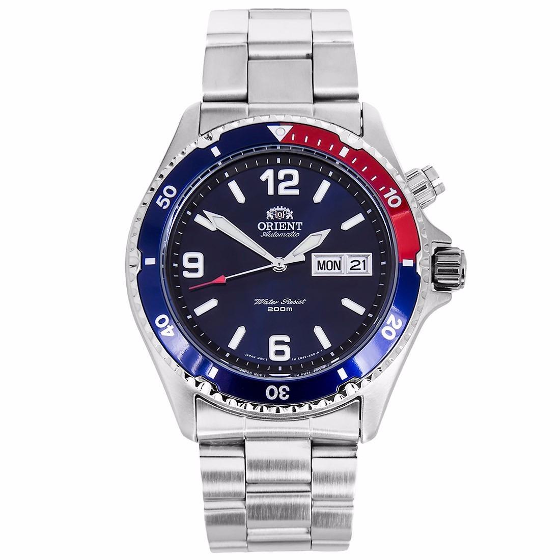 c8ad424c116 Relógio Orient Aut. Mako Fem65006dw Mergulho Garantia E Nf - R  848 ...