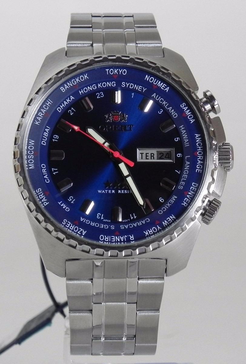 cdc7a74d14b relógio orient automático 100 metros 469ss057 d1sx 21 rubis. Carregando  zoom.