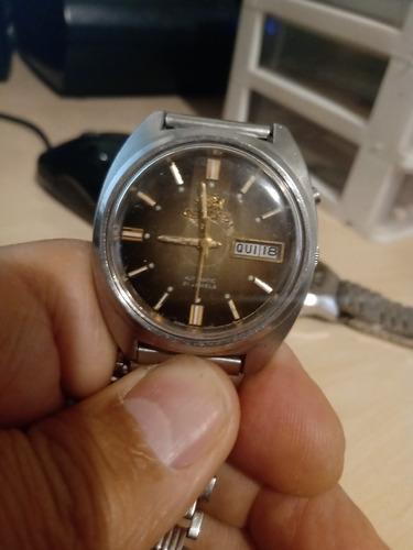 relógio orient automático 21 rubis
