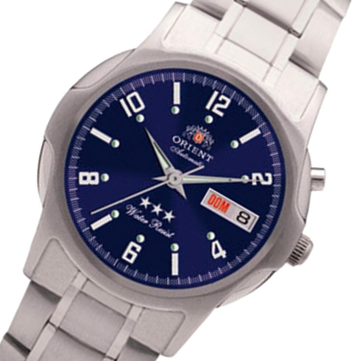 8ec520f478c relógio orient automático aço masculino 469ss007 d2sx. Carregando zoom.