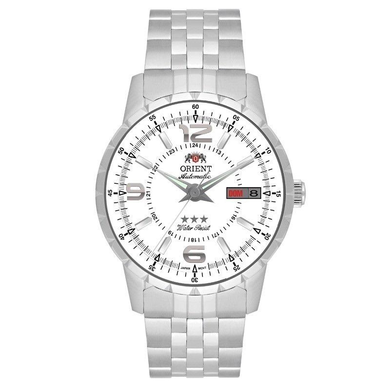 ae36110e1ba relógio orient automático branco original c nf 469ss034 s2sx. Carregando  zoom.