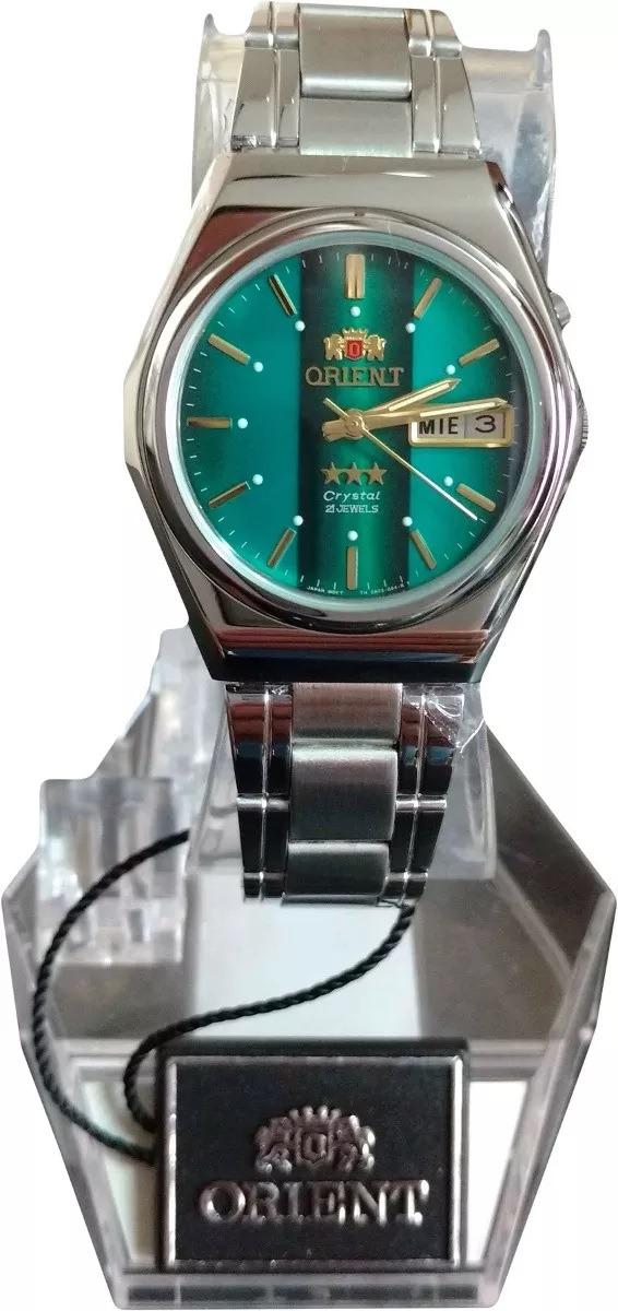 439dd266572 relógio orient automático clássico masculino aço original. Carregando zoom.