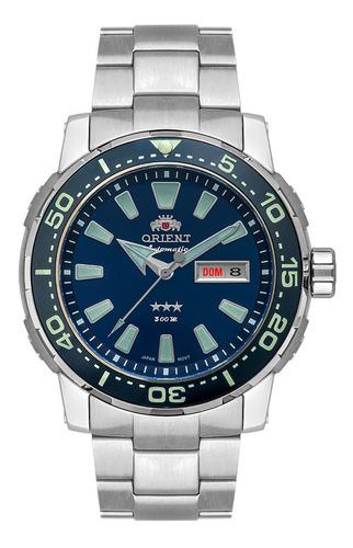 relógio orient automático f49tt001 titanium + brinde