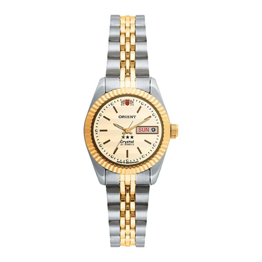 596e180ce2d relógio orient automático feminino 559eb3x luxuoso elegante. Carregando  zoom.