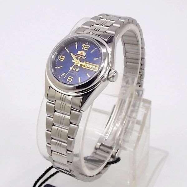 2ad9a7cec1daf Relógio Orient Automático Feminino Mini Autêntico Fnq1x004j9 - R ...