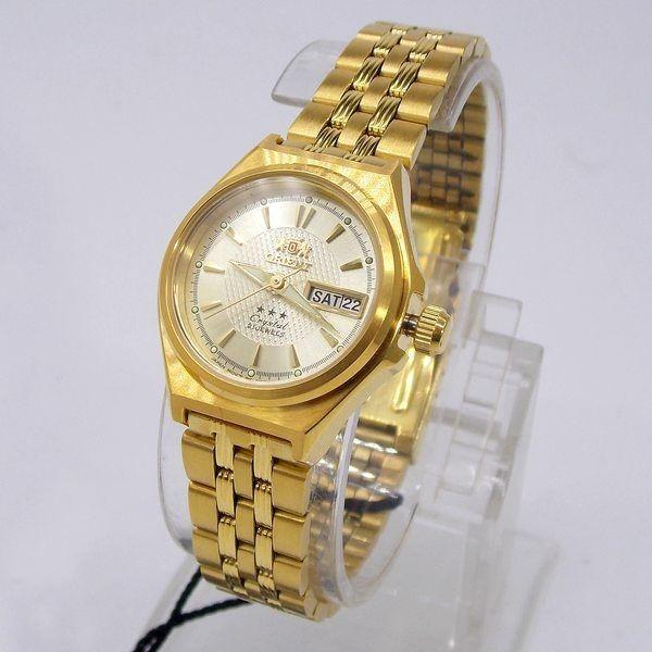 4ab44f13319 Relógio Orient Automatico Feminino Mini Dourado Fnq1s001c9 - R  484 ...