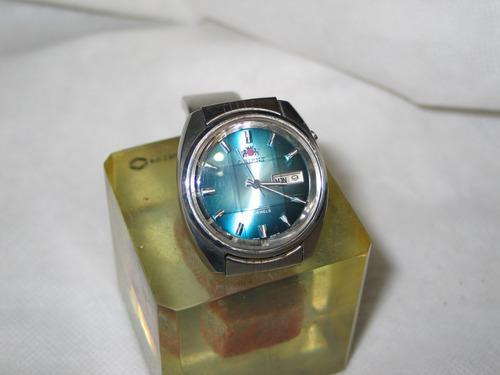 relógio orient automatico japan vidro quadriculado antigo