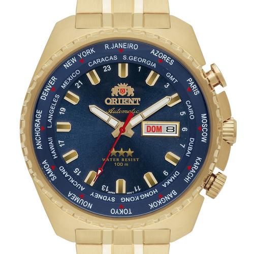 relógio orient automático masculino 469gp057 d1kx + nota
