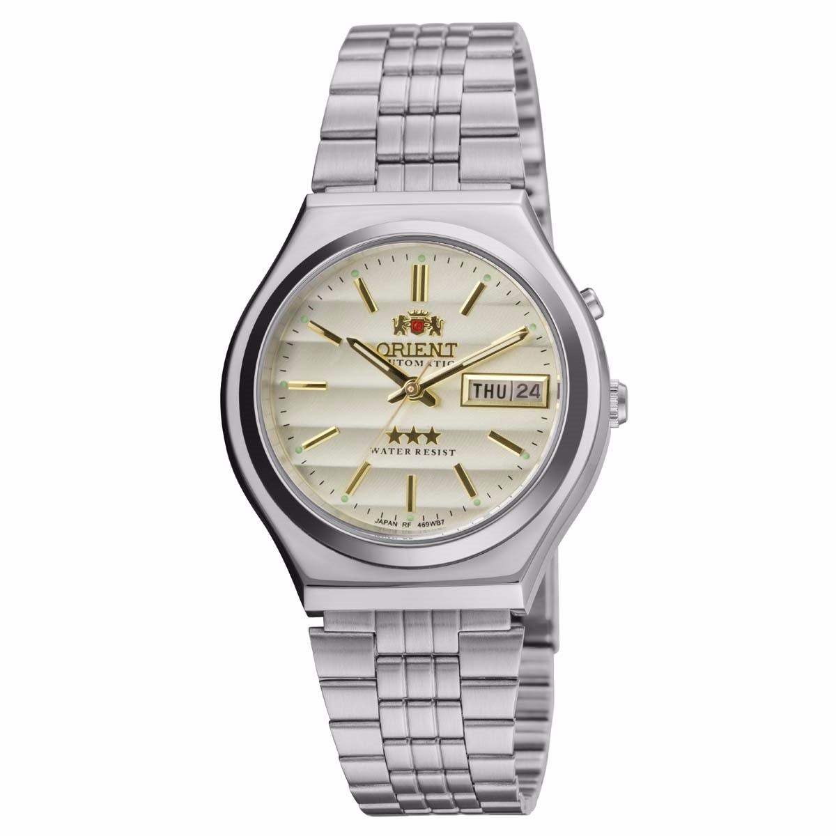520ede0e2bd relógio orient automático masculino 469wb7a c1sx (cfsj). Carregando zoom.