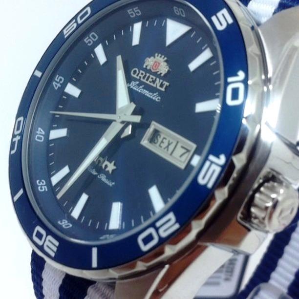 0bf165a8efe Relógio Orient Automático Masculino Aço 469ss064 D1bd - R  418