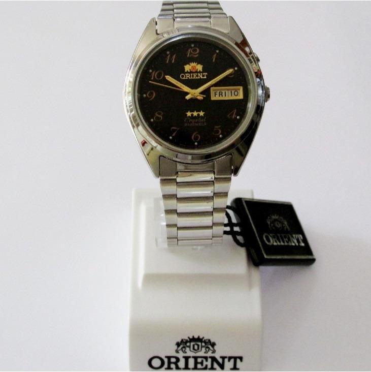6c85e5fbf84 Relógio Orient Automatico Masculino Aço Fab00003b9 - R  342