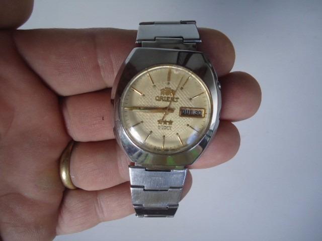 567949efbd4 Relógio Orient Automático Masculino Antigo 1 - R  179