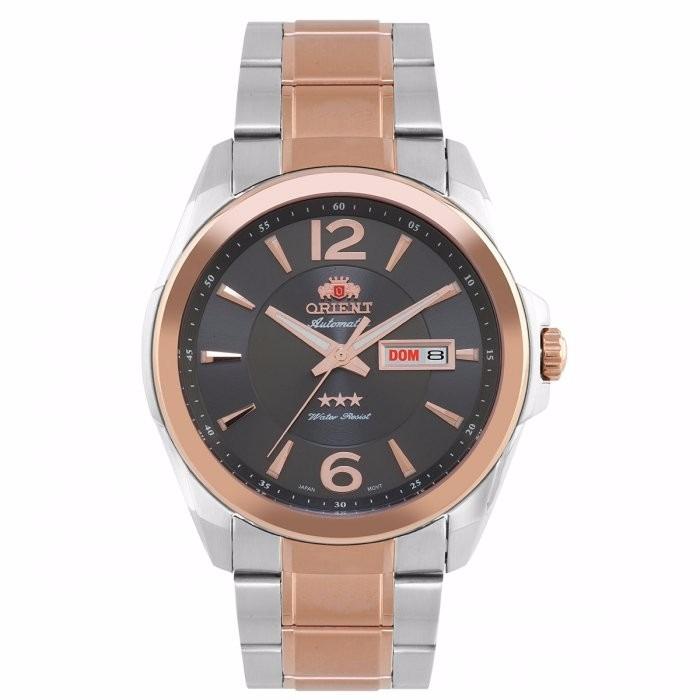 Relógio Orient Automático Masculino Misto Rose 469tt050 - R  399,00 ... b5d80333ff