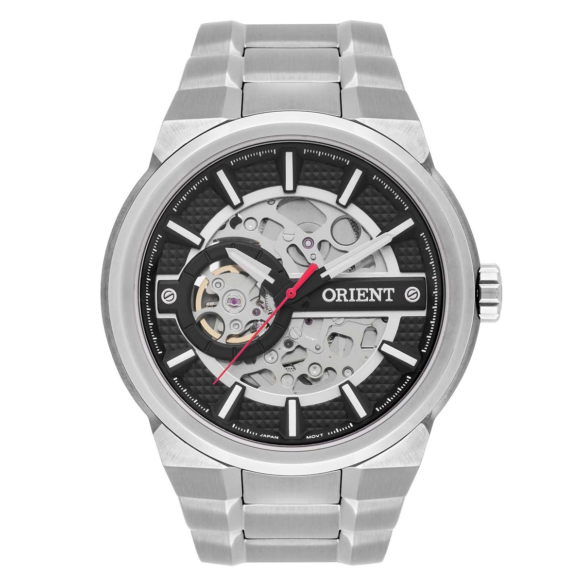 5aae05d17b9 relógio orient automático masculino nh7ss002 p1sx esqueleto. Carregando  zoom.