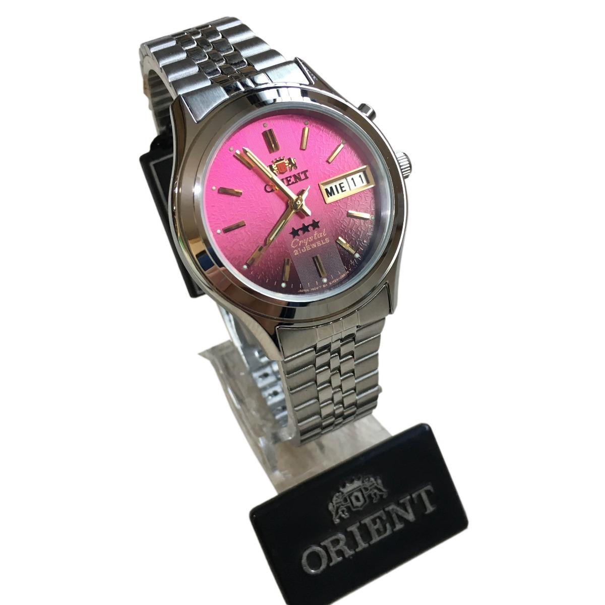 7fc5e034e1e relógio orient automatico masculino original prata c  caixa. Carregando zoom .