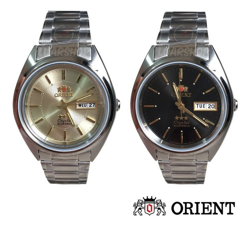 relógio orient automatico masculino prata original caixa nf
