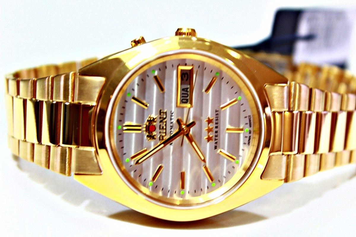 f66727f00c4c5 relógio orient automático masculino prova dágua 469wc2. Carregando zoom.