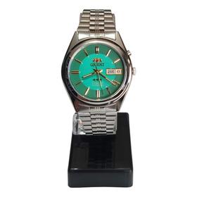 Relogio Orient Automatico Masculino Verde / 2 Chave Caixa Nf