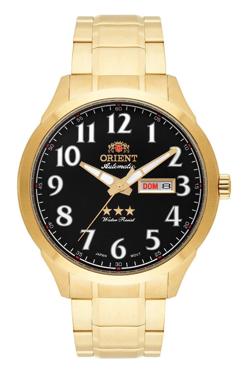 0100dc459d3 relógio orient automatico o r i g i n a l 469gp074 p2kx + nf. Carregando  zoom.
