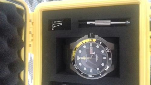 8bb445a77c9 Relógio Orient Automático Seatech Troca Pulseiras Diver  - R  1.200 ...