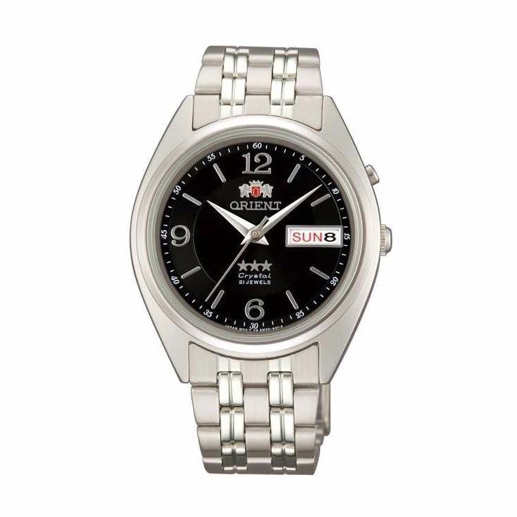 2da8a452c0c Relógio Orient Clássico Automático Aço Fundo Preto Data Dia - R  539 ...
