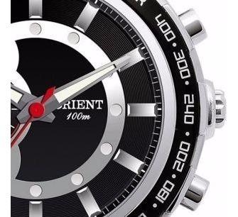 relógio orient cronógrafo mbssc043 - 100m novo, nf, garantia