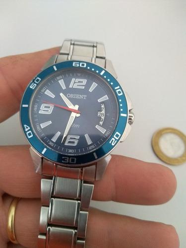 relógio orient dive azul