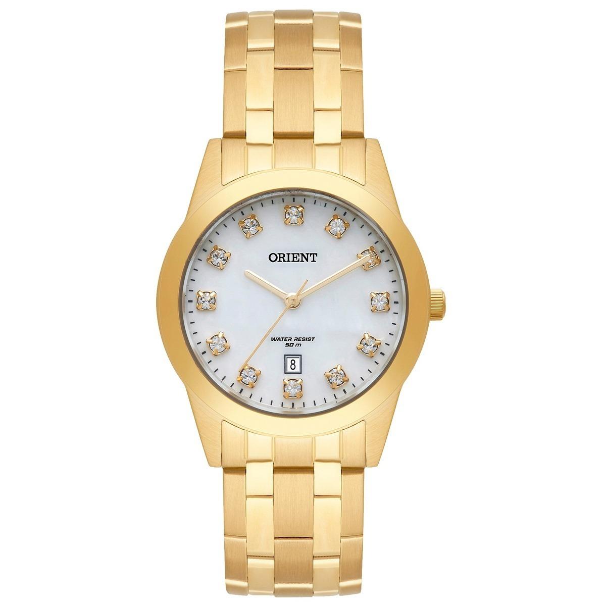 ad3e2055a8b relógio orient eternal feminino dourado wr 50m fgss1150 b1kx. Carregando  zoom.