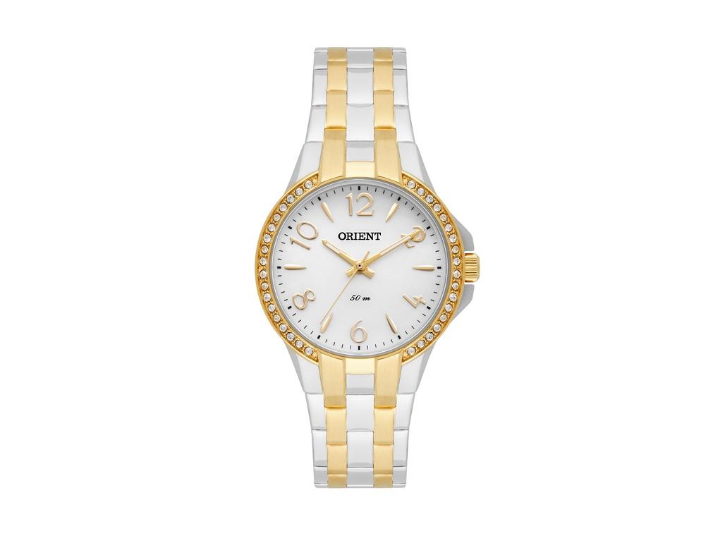 24d06e006ce Relógio Orient Dourado E Prata Feminino - R  630