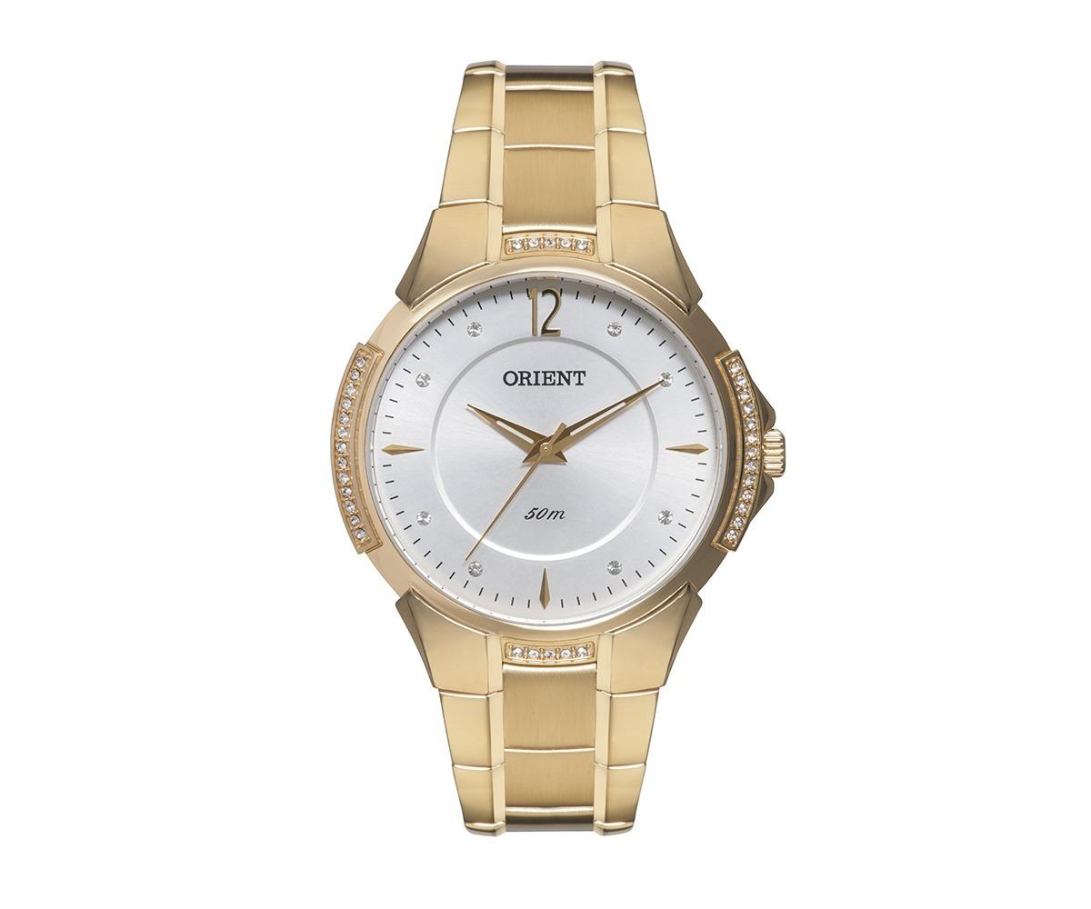 dd445b0c559b6 Relógio Orient Feminino Cristais Swarovski Fgss0039 S2kx - R  541,50 ...