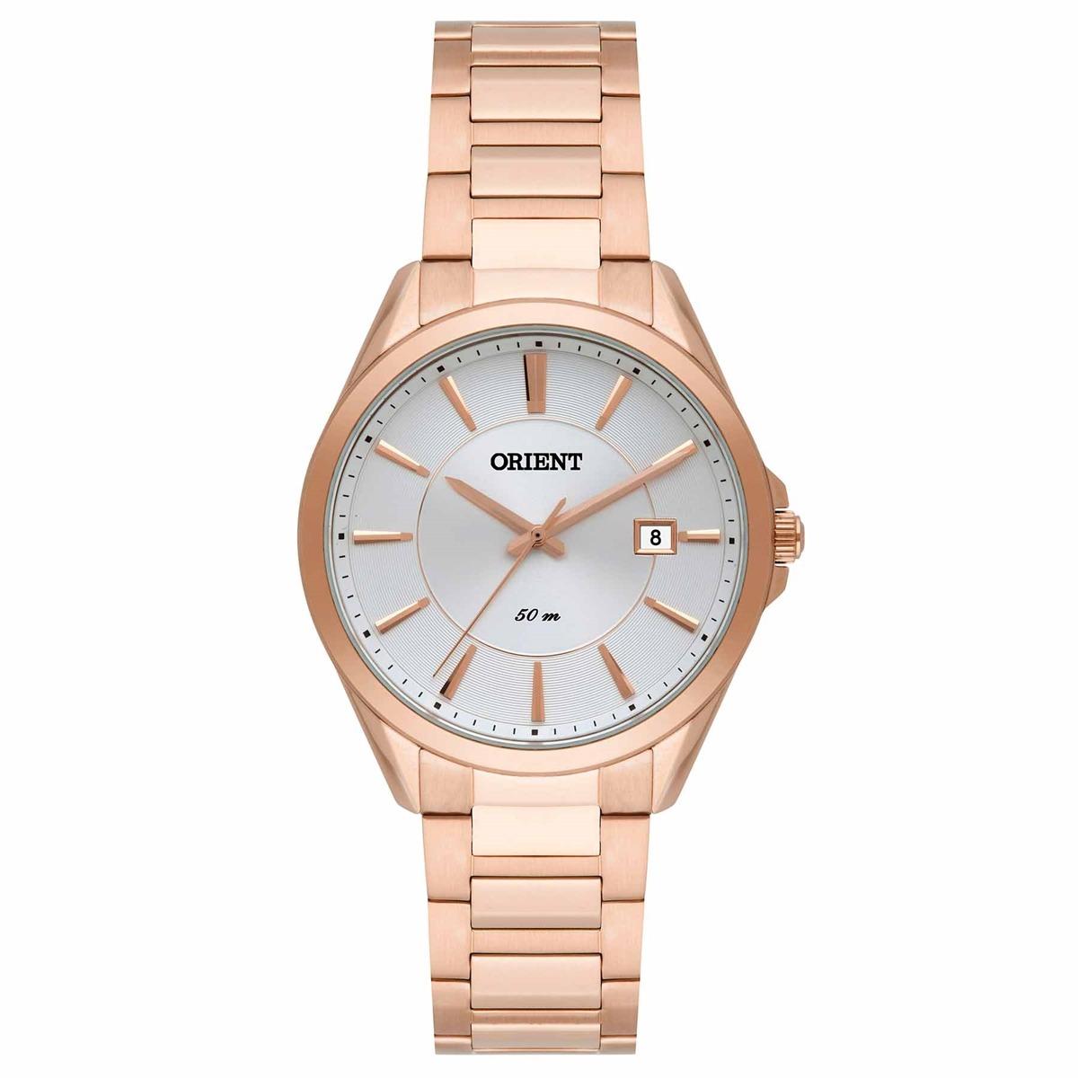 Relógio Orient Analógico Feminino Rose Frss1028 S1rx - R  399,00 em ... 3b3a1123c9