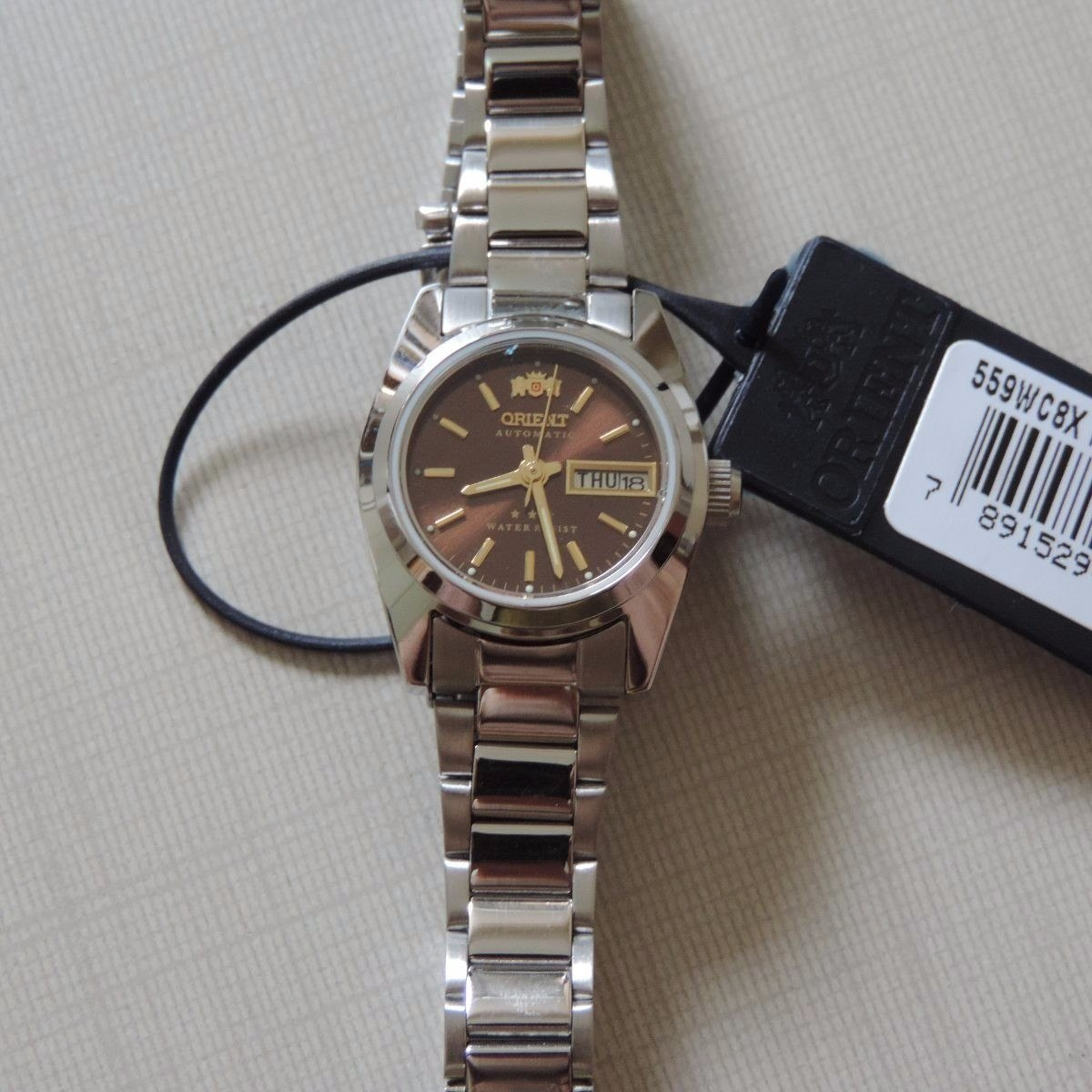 014df452c56 relógio orient feminino automático 559wc8x vinho · relógio orient feminino.  Carregando zoom.