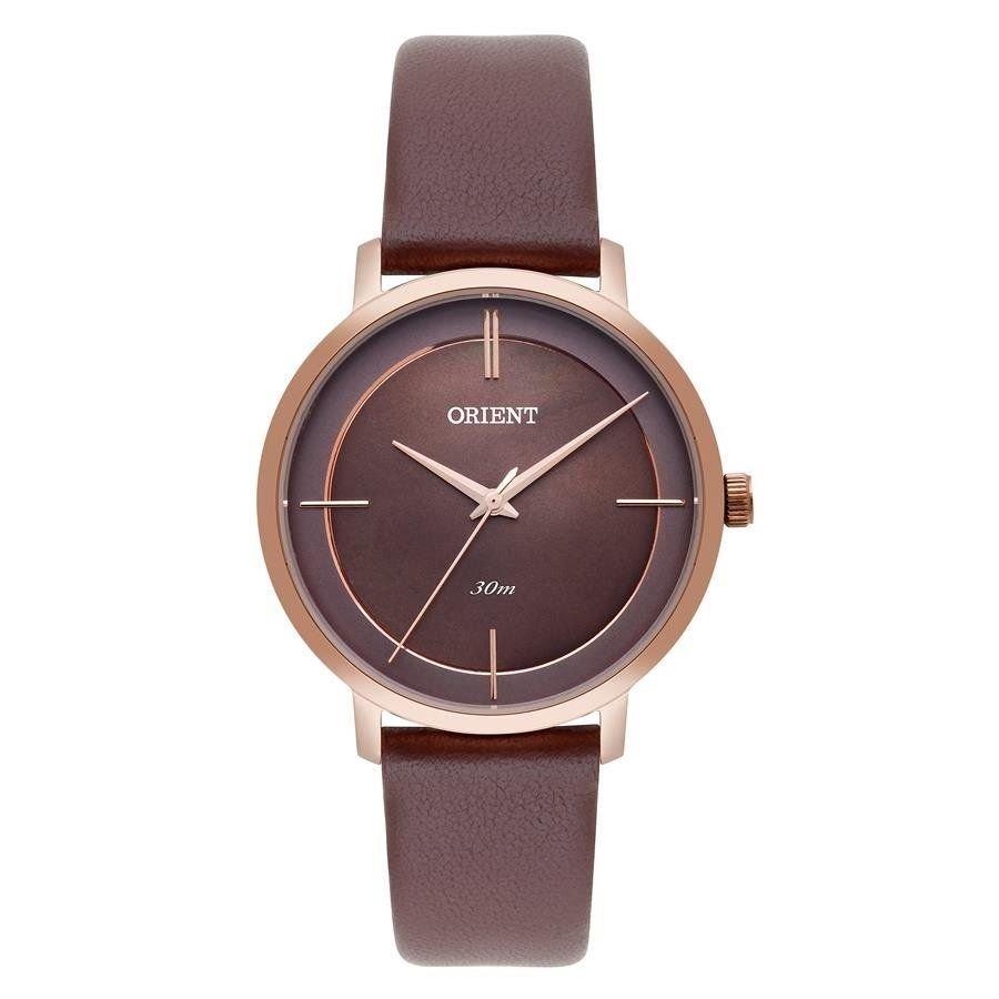 Relógio Orient Feminino Ref  Frsc0007 N1nx Fashion Rosé - R  399,07 ... b161e832f9
