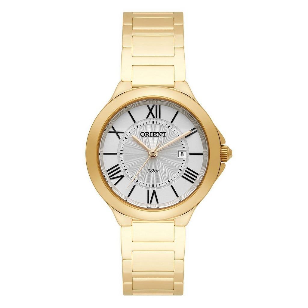 90504aadfa8 relógio orient feminino analógico dourado fgss1137s3kx. Carregando zoom.