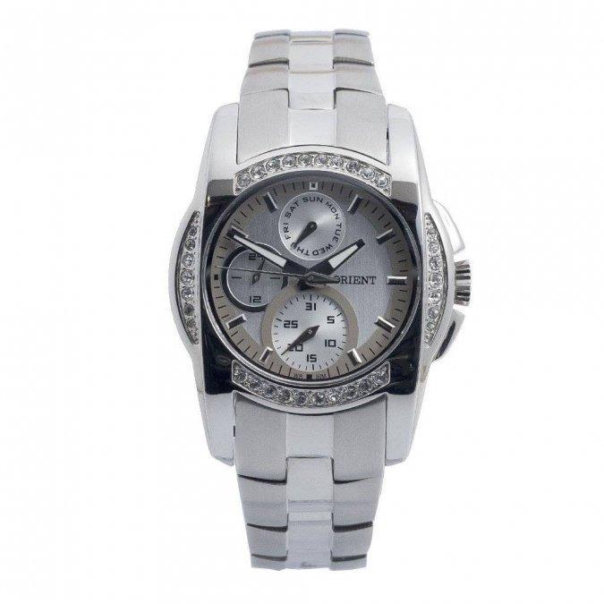 3ae4b1fd3e8a6 Relógio Orient Feminino Cristais Swarovski Fbssm002 Sgsx - R  659,99 ...