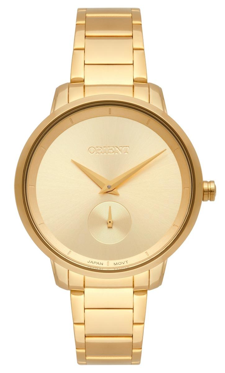 0485a32e2ec relógio orient feminino dourado analógico fgss0121c1kx. Carregando zoom.