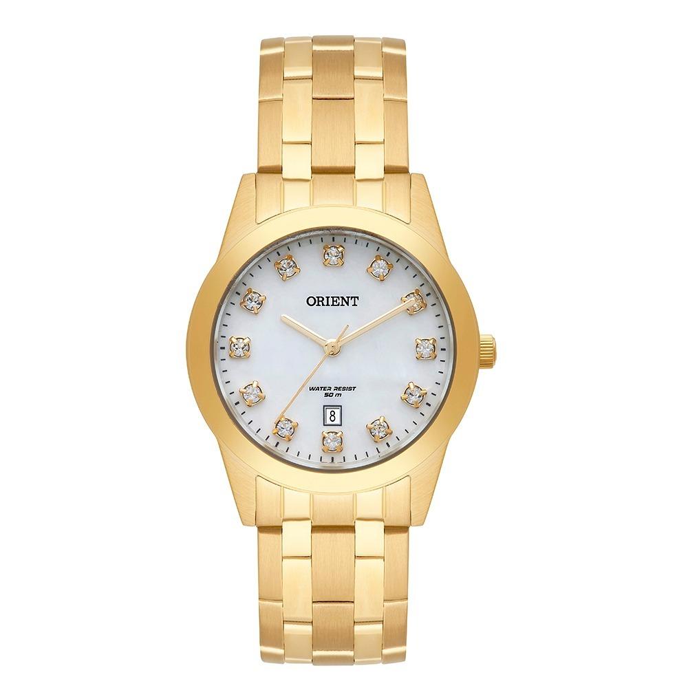 d6e8452e1ca relógio orient feminino dourado fgss1150 b1kx nota fiscal. Carregando zoom.
