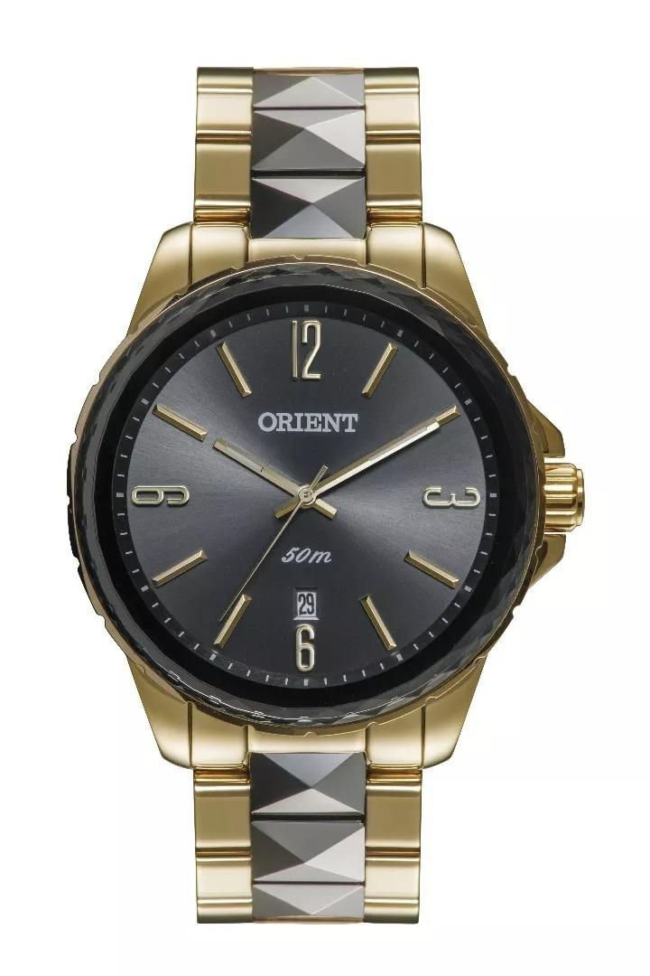 696f0b380c2 Relógio Orient Feminino Dourado   Preto - Ftss1082 G2ks - R  579