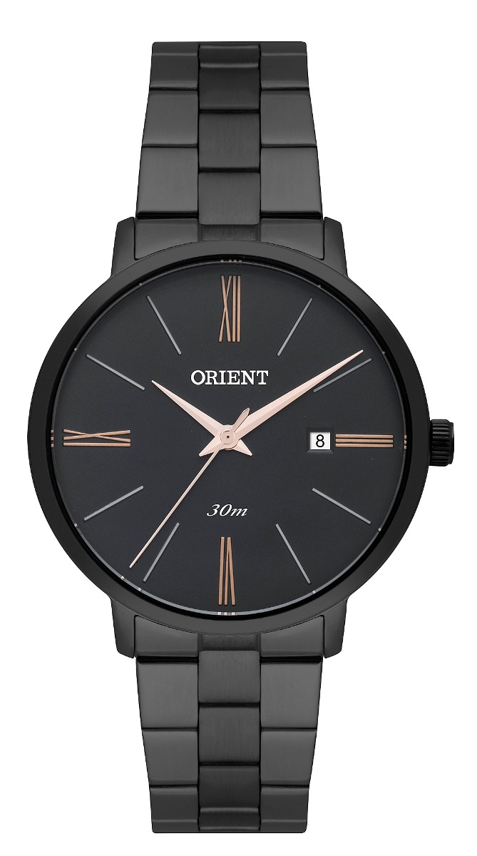 Relógio Orient Feminino Fpss1002 P3px Preto Analogico - R  399,00 em ... 4b3c47fa5d