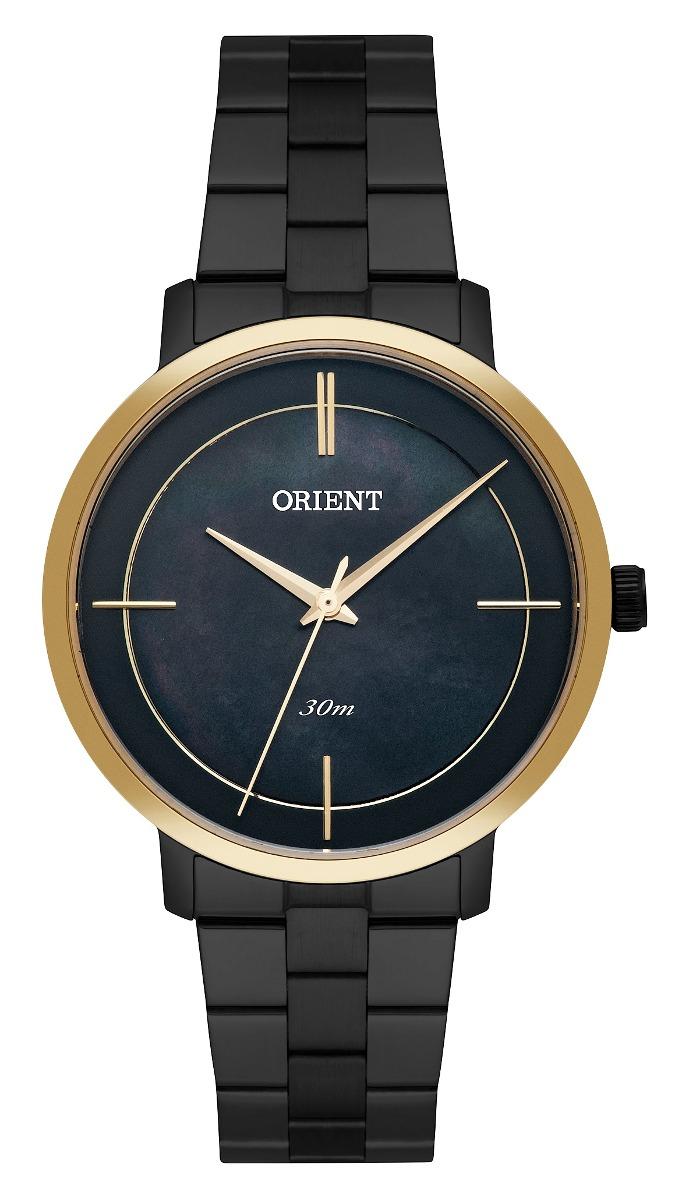 447a96dafc7 relógio orient feminino ftss0058 p1px preto dourado. Carregando zoom.