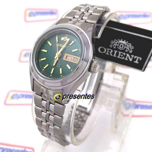 relógio orient feminino mini
