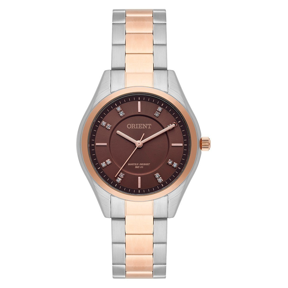c799918931d relógio orient feminino misto ftss0055 a prova dágua 50 m. Carregando zoom.