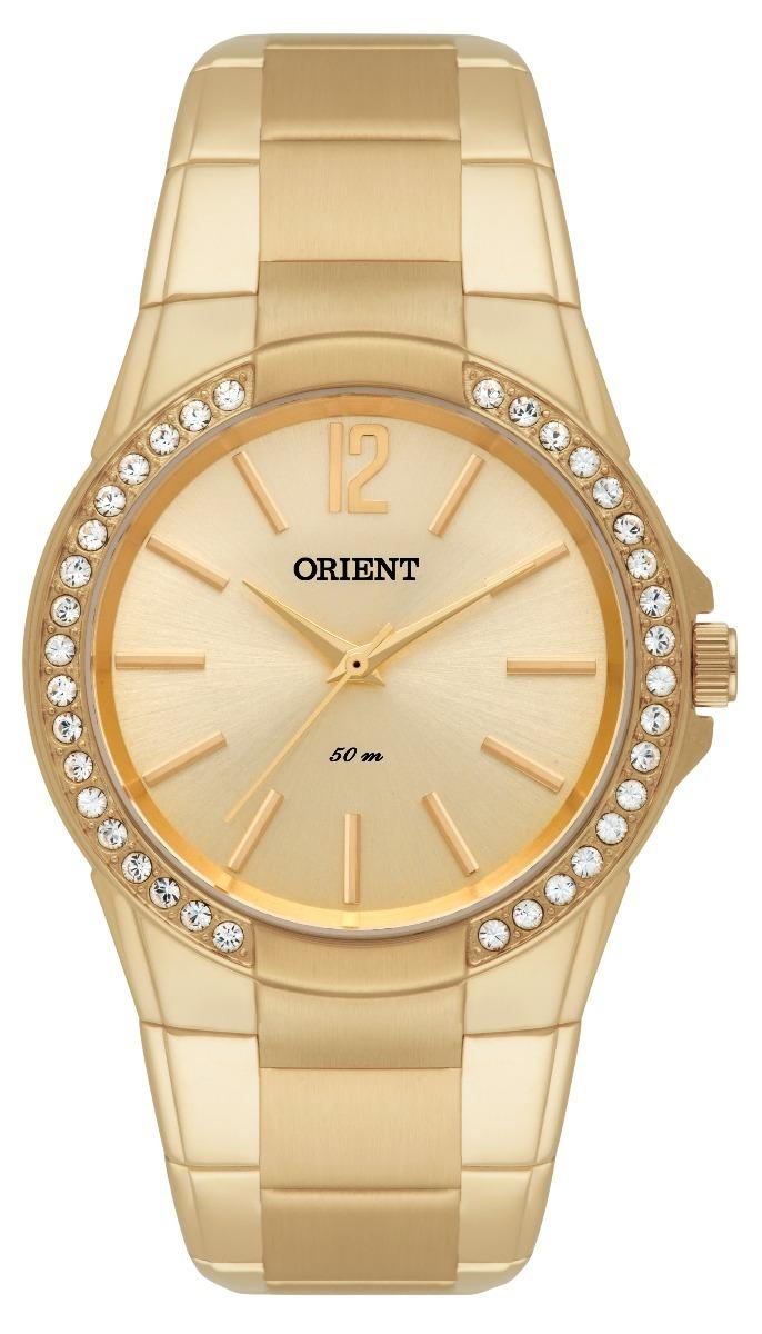 4878a02b435 relógio orient feminino quartz dourado nt fgss0048 c2kx. Carregando zoom.