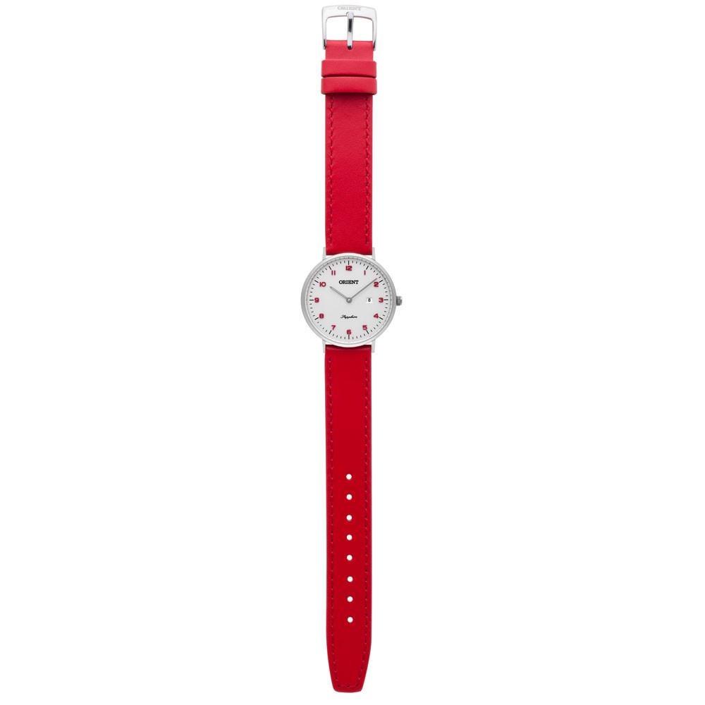 adcb3f000ec8a Relógio Orient Feminino Slim Safira Fbscs003 S2vx - R  309,90 em ...