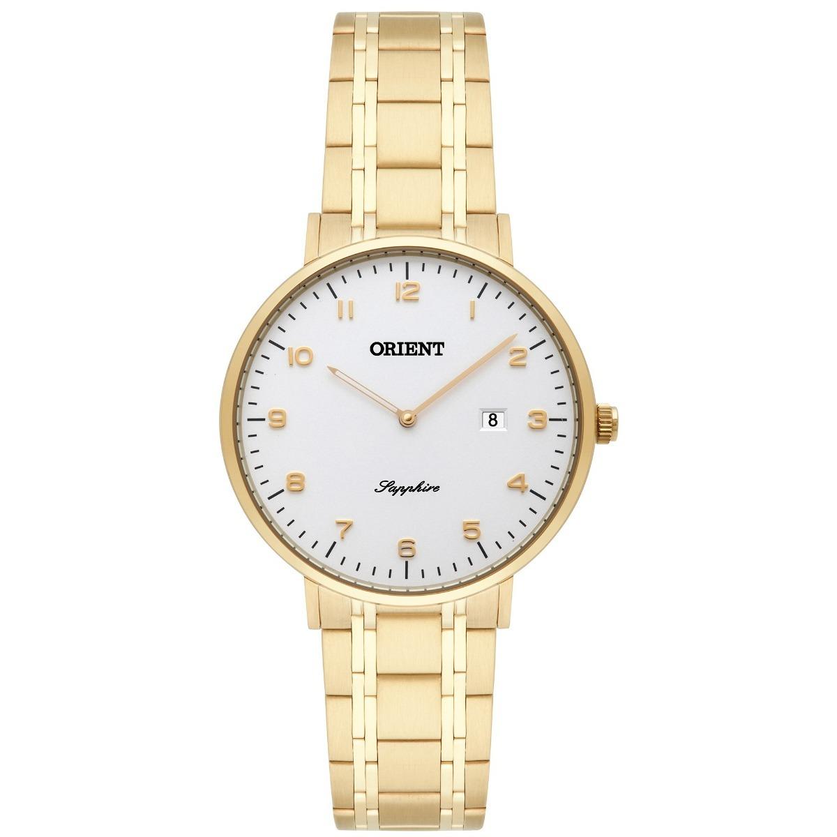 6aef45fbda380 Relógio Orient Feminino Slim Vidro Safira Fgsss003 Original - R  614,00 em  Mercado Livre