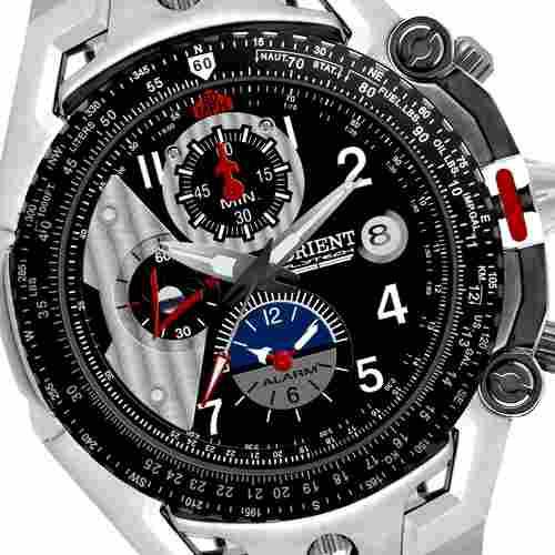 dfcd87ac6ae Relógio Orient Flytech Masculino Mbttc001 Titanio - R  1.199