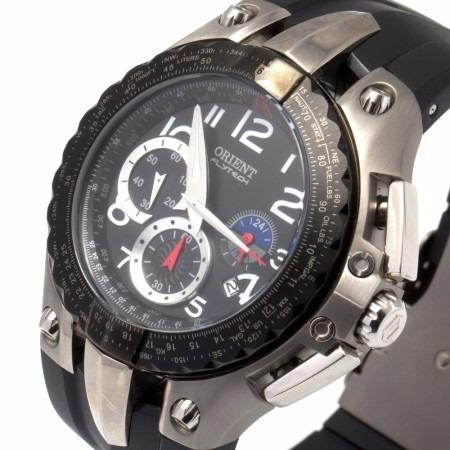 485d3b4a28c Relógio Orient Flytech Titanium Masculino Mbtpc002 - Outlet - R  589 ...