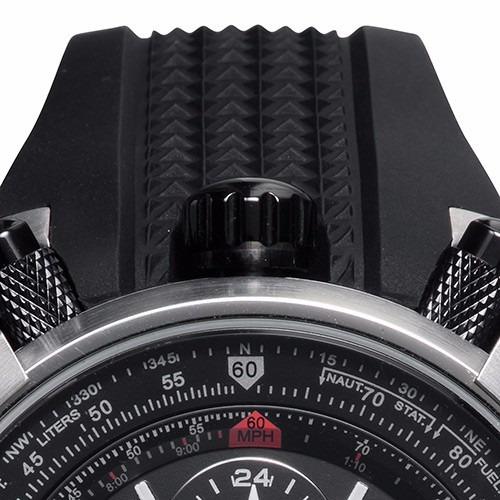 bc05680aaaf Relógio Orient Flytech Titanium Mbtpc003 Pulseira Silicone - R  498 ...