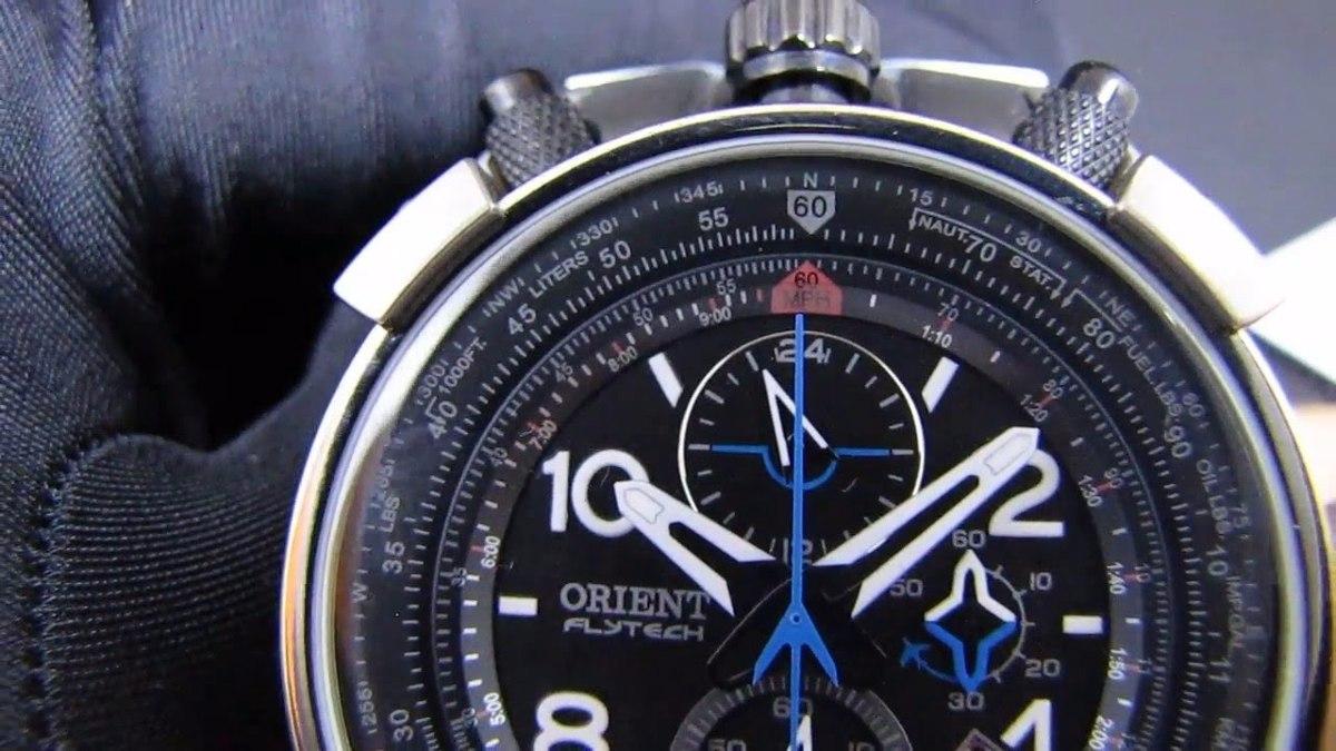 795cf5d9cb9 relógio orient flytech titanium mbtpc003 pulseira silicone. Carregando zoom.